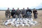 Prairies Edge Outfitting Goose hunting